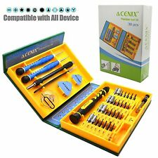 38 in 1 Screwdriver Set Tools Repair Kit For Apple iPhone 4 5 Samsung HTC Tablet