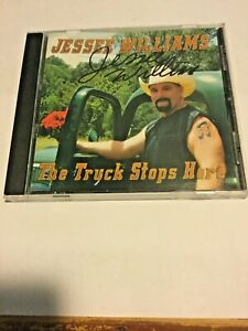 JESSEE WILLIAMS The Truck Stops Here  autographed copy