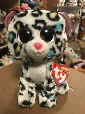 Ty Tilley -Black/White w/Multicolor Spots Leopard 6� Beanie Boo *New Exclusive*