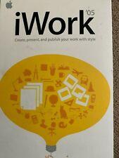 Apple iWork 05 For Mac OSX