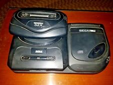 Sega Genesis, Sega CD, Sega 32x Lot with controllers, cords and games included!