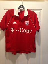 FC BAYERN MÜNCHEN 2004/2005 Home shirt Roy Makaay 10 Size L boys 34/36