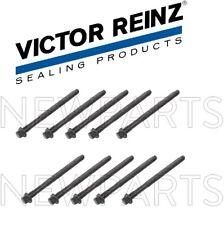 For Volvo S40 Base LSE V40 Set of 10 Cylinder Head Bolts Victor Reinz 6842347