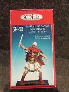 Soldiers Roman Caius Julius Caesar  54mm metal figure