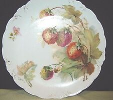 Vintage J&C Malmaison/ Bavaria Hand-painted Porcelain Plate