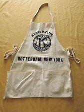 VINTAGE KIWANIS CLUB INTERNATIONAL ROTTERDAM NY SIGNED APRON