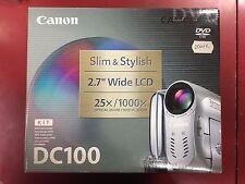 Canon DC100 Camcorder mini DVD BOXED & NEW