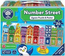 Orchard Toys Nombre Rue Puzzle Éducatif Enfants Jeu Puzzle 2 Ans + BN