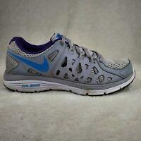 Nike Women's Dual Fusion Run 2 Running Shoes Size 8 Grey Blue 599564-010