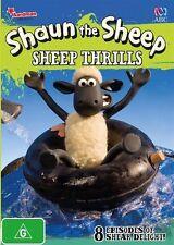Shaun the Sheep - Sheep Thrills | DVD Region 4 | Brand new & Sealed | Free Post