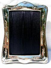 Large Elegant Finest 999 Quality Hallmarked Silver London Britannia Photo Frame.