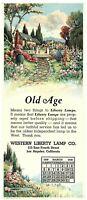 Lot 2 Western Liberty Lamp Co. Blotter Calendar Advertising March & April 1939