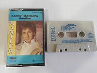 BARRY MANILOW MANILOW CINTA TAPE CASSETTE RCA APK1 7044 1985