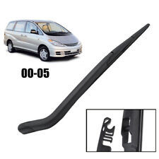 Rear Window Windscreen Wiper Arm Blade Kit Fit For 2000-2005 Toyota Tarago