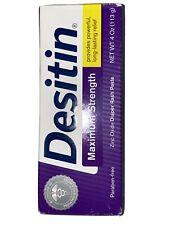 DESITIN MAXIMUM STRENGTH ZINC OXIDE DIAPER RASH PASTE 4OZ