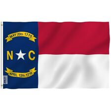 Anley Fly Breeze 3x5 Foot North Carolina State Polyester Flag NC Flags 3 X 5 Ft
