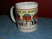 CAFE DU MONDE COFFEE MUG THE ORIGINAL FRENCH MARKET COFFEE STAND NEW ORLEAN LA
