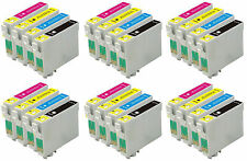 24 INKS FOR EPSON C64 C66 C84 C86 CX3600 CX3650  CX4600 CX6400 CX6600
