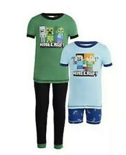 NWT Minecraft Boys 4pc pajamas set- 2t