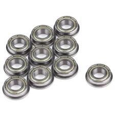 10 PCs (8mm*16mm*5mm) F688zz Mini Metal Double Shielded Flanged Ball Bearings 10