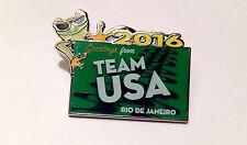 2016 Rio De Janeiro, Brazil -  Team USA Olympic Pin - Greeting Frog