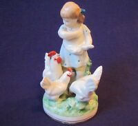 Rare Figurine Russian Soviet Porcelain USSR Vintage Minsk 50s Propaganda Not lfz