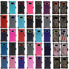 For Samsung Galaxy S9 / S9 Plus S8 / S8 Plus Defender Case Rugged w/ Holster
