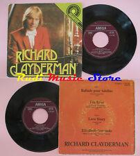 LP 45 7'' RICHARD CLAYDERMAN Ballade pour adeline Fur elise Love story cd mc dvd