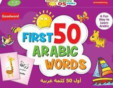 My First 50 Arabic Words Islamic Muslim Children Kids Learning Book Gift Ideas