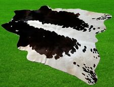 """New Cowhide Rugs Area Cow Skin Leather 19.88 sq.feet (53""""x54"""") Cow hide A-5869"""