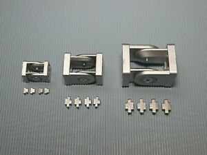 Aluprofil Gelenkverbinder 20 / 30 / 40 Nut 6/ 8 Profilverbinder Alu mit Gelenk