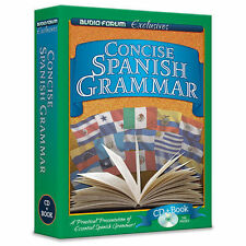 Concise Spanish Grammar (CD/Book) by Audio Forum Exclusives *NEW IN BOX*