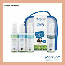 MooGoo Essetial Travel Pack - Shampoo, Conditioner, Body Wash  & Udder Cream MDC