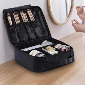"10"" Travel Make-Up Storage Bag Box Cosmetic Brush Case Toiletry Organizer Holder"