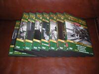 LOT 8 DVD COLLECTION OFFICIELLE CHAPEAU MELON ET BOTTES DE CUIR SAISON 4 1965/66