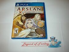 * New * Sealed * Arslan: The Warriors of Legend - for Sony PlayStation 4  ps4