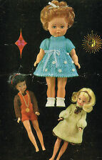 "12"" teenage & 14"" Baby Dolls clothes knitting pattern..(V Doll 111)"