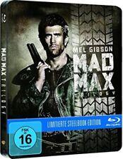 MAD MAX TRILOGY (Mel Gibson) 3 Blu-ray Discs, Steelbook NEU+OVP