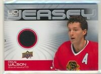2010-11 Upper Deck series 1 UD Game Jersey Doug Wilson Chicago Blackhawks