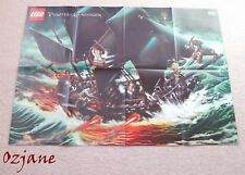 LEGO PIRATES OF THE CARIBBEAN PICTURE POSTER BLACK PEARL 84CM X 59CM