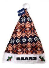 Chicago Bears NFL American Football Christmas Knit Santa Hat