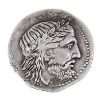 G (11) Rare pièce monnaie tétradrachme grecque argent roi Philippe II Macédoine