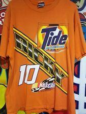 Tide Racing Ricky Rudd Vintage Tshirt #10 Nascar All Over Print Rare Delta