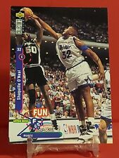 "1995-96 Upper Deck Collector's Choice Shaquille ""SHAQ"" O'Neal - Fun Facts #184"
