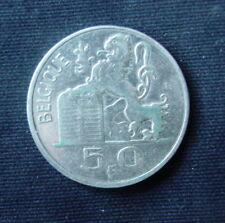 Zilveren munt België/Belgique:  50 FR. 1948 (franse legende)