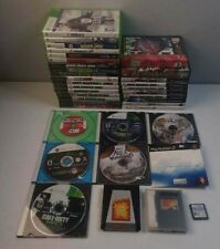 Wholesale Video Game Lot Xbox 360 Nintendo Wii Gamecube DS PC Sega Action Replay