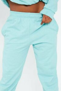 Womens Ladies  Casual Oversized Jogging Joggers Cuffed Bottoms Jog Pants