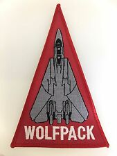 America/American U.S. Navy Aviation VF-1 'Wolfpack' cloth embroidered patch