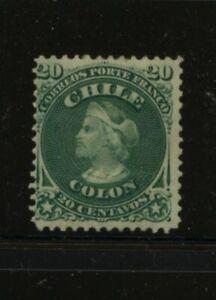 Chile   19  mint  og    catalog  $80.00       MS0719