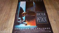 DOCTEUR PETIOT ! affiche cinema